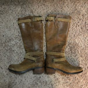 UGG tall leather boots